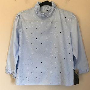 Zara Rhinestone blouse